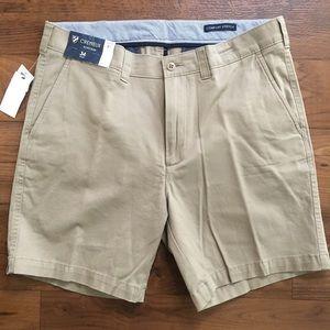 Cremieux Tan Khaki Soho Slim Golf Shorts Mens New